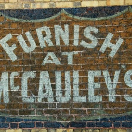 Hand Painted Ghost Sign