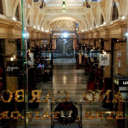 ADRIANO CARBONE Master Tailor<br /> Location:  BLOCK ARCADE Melbourne. <br />
