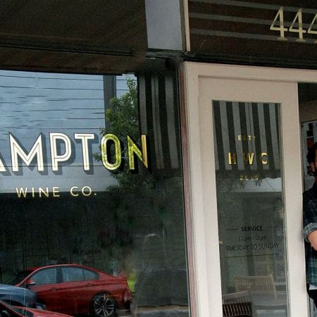 Various stages during gilding process/ Before Burnishing & Finish.                 <br /> HAMPTON Wine Co.<br /> Location: 444 Hampton St. H