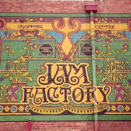 Painted Sign, Jam Factory, Chapel Street, Prahran